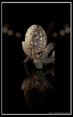 резьба по яйцу