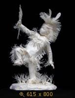 Аллен и Пэтти Экман. Бумажные скульптуры