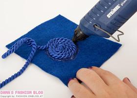 модный ободок для волос