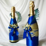 Декор бутылок своими руками