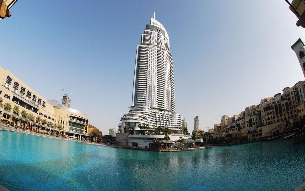 Необычные здания Дубай, ОАЭ.