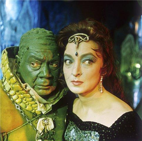 Королевство Кривых Зеркал, 1963 год. Анидаг - Лидия Вертинская.