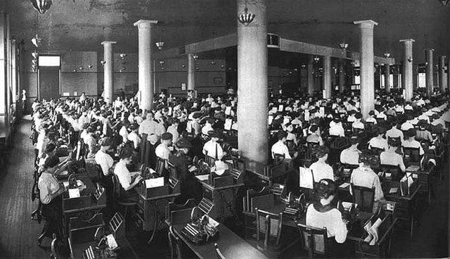 Roebuck & Co, Чикаго, 1913 год.