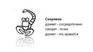 скорпион гороскоп юмористический