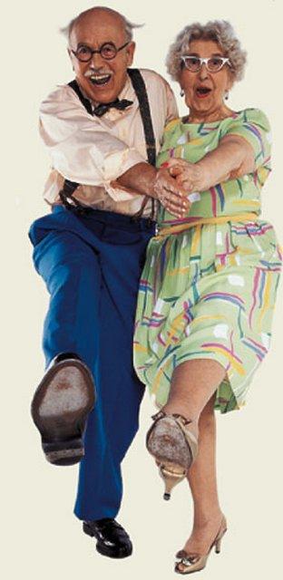 танцы пенсионеры