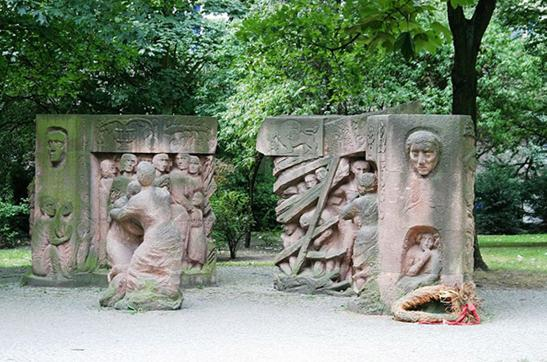 "Памятник «Block der Frauen"""
