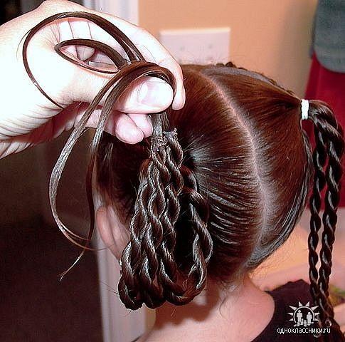 Укладка причёски боб каре фото