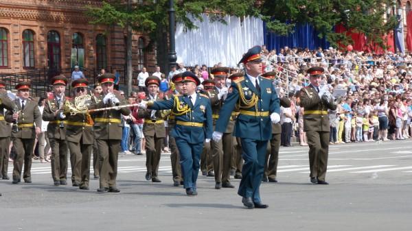 Фестиваль духовых оркестров. Хабаровск
