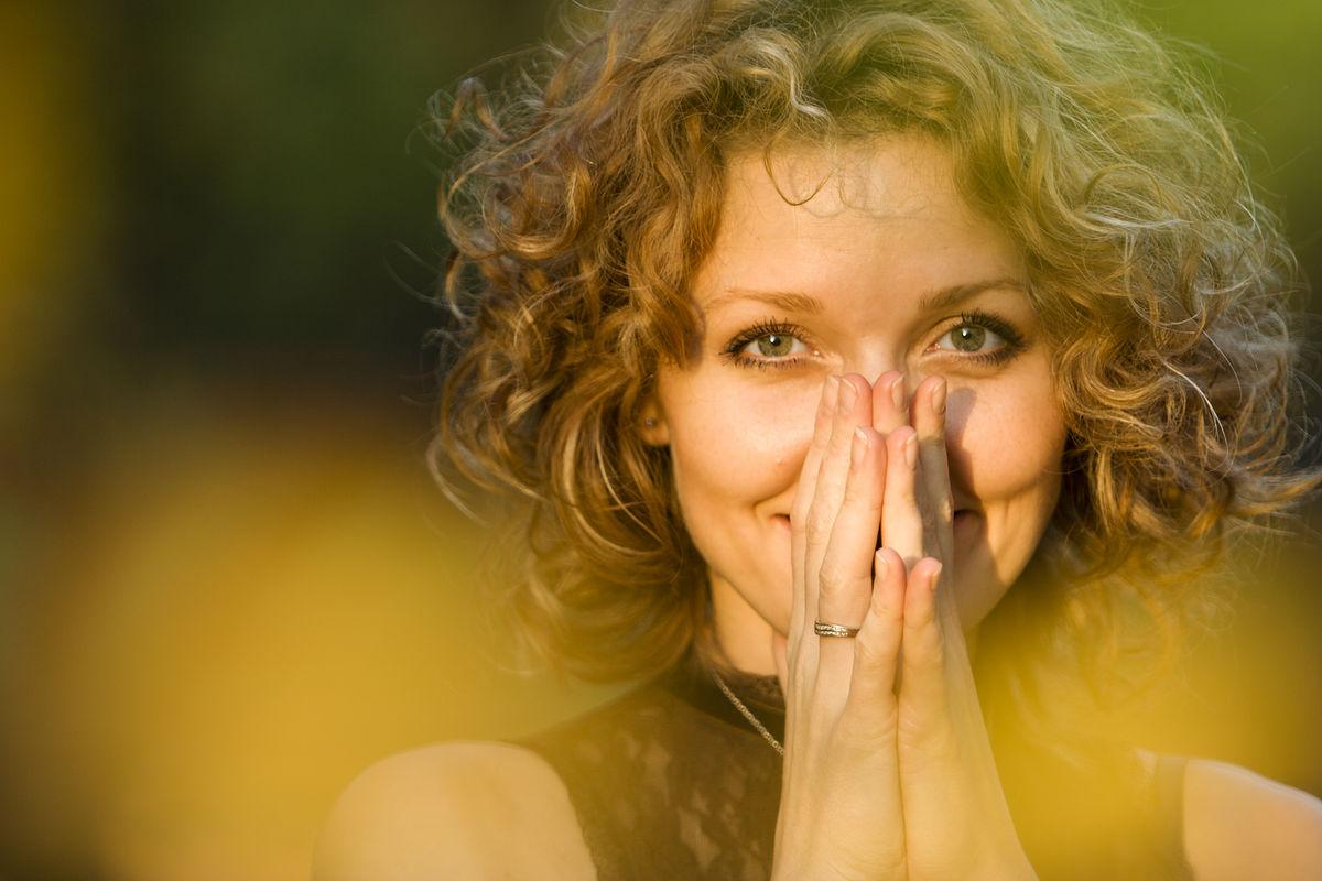 счастливая женщина