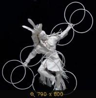 Аллен и Пэтти Экман. Бумажные скульптуры.