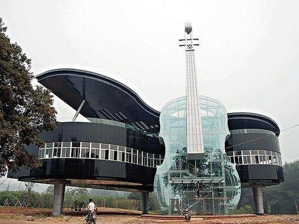необычные здания дом-рояль